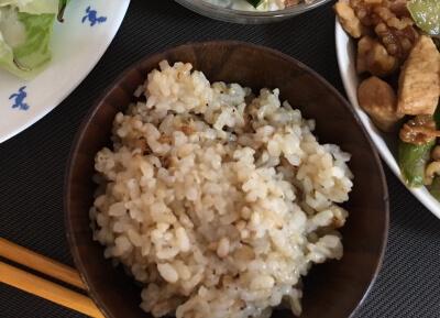 白髪予防 玄米