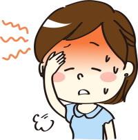ヘアカラー 頭痛