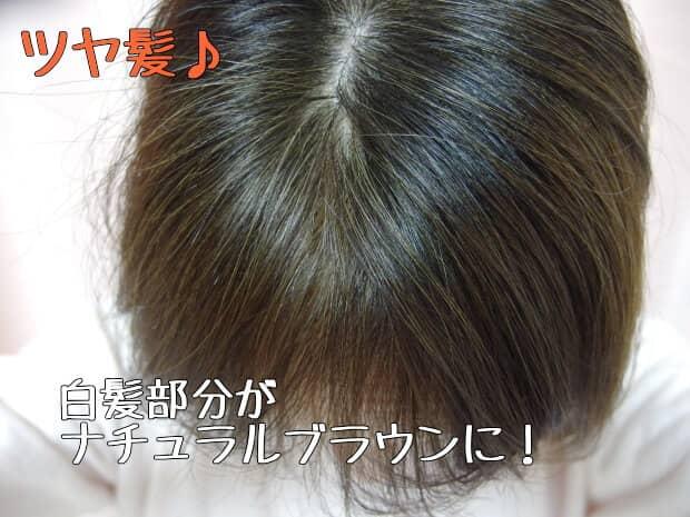短い髪でカラートリートメント
