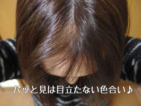 前髪の白髪 ルプルプ 染まった口コミ