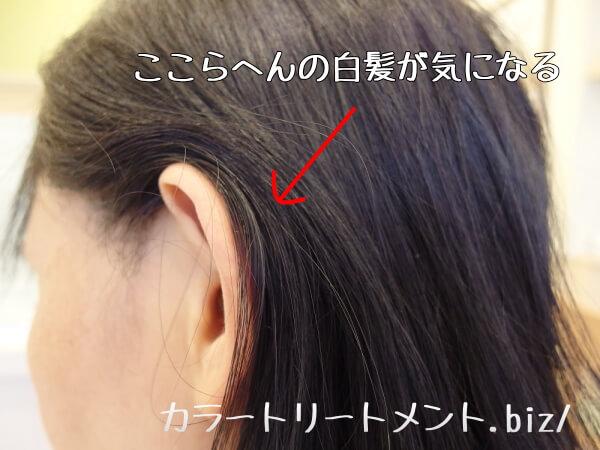 レフィーネヘッドスパ 白髪染めの効果