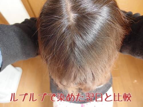 ルプルプ 白髪染め 効果